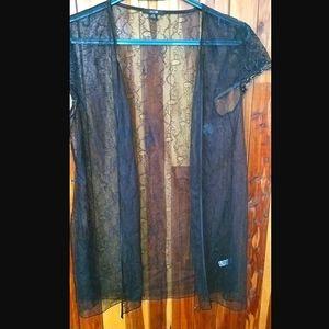 🌟Sale🌟Jacob black lace lingerie cover-up
